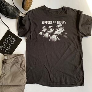 Tops - Star Wars ❤️ Support the Troops Tee